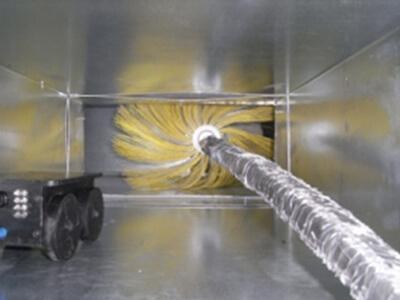 Sanificazione conduttura dell'aria